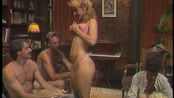 Warm ouderwetse sector sex behavior with Nina Hartley