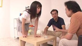 Nozomi Hazuki wishes to swallow after blowjo