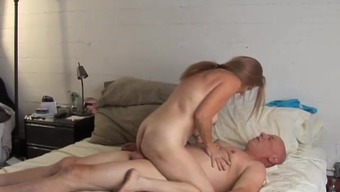 Naughty old spunker is really heated fuck and loves cum
