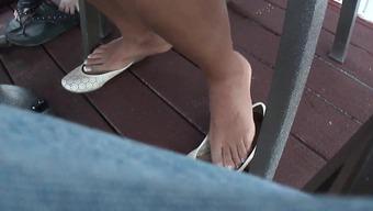 Feet illustrate of twenty six 12 months old krown