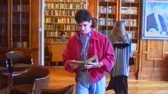 Winger Lolita Triple Fucked in Library
