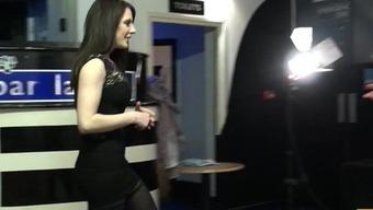 Samantha Aston martin busy, throated & doggied
