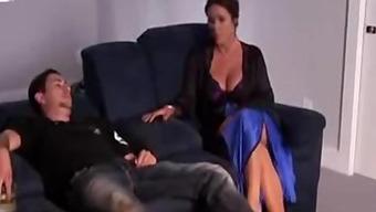 stud fucks big tits tramp MILF