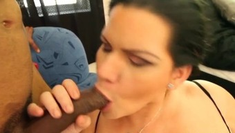 Angelina Castro Gets Your mouth FULL of Sperm!