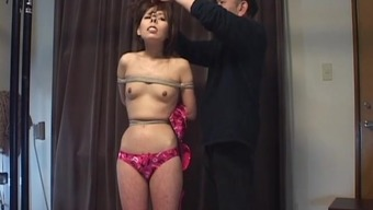 Subtitled CMNF Japanese people BDSM mouth holder plus much more