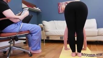 Milf bondage Ass-Slave Yoga