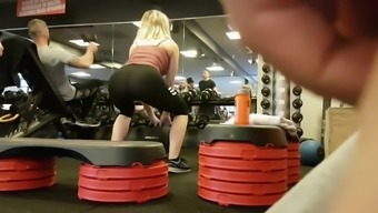 Hot booty spoiled my fitness