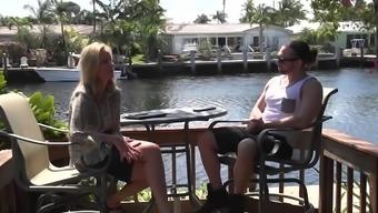 Perverted pornstar Jodi West in ridiculous blonde, cunnilingus adult online video