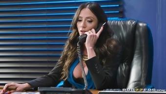 Ariella Ferrera is basically a curvy MILF hunger an anus fuck