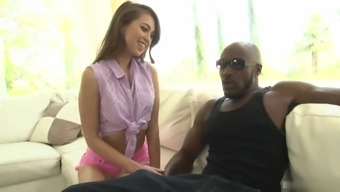Ufirst Reid is barely legal action, but her pussy is stretched large enough