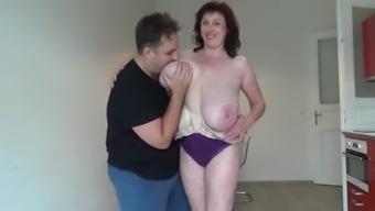 Senior titties make use of the