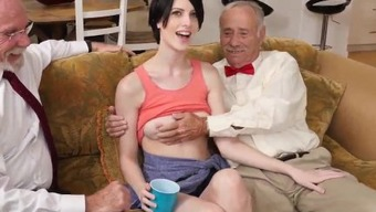 Erica fontes old and old oriental man little