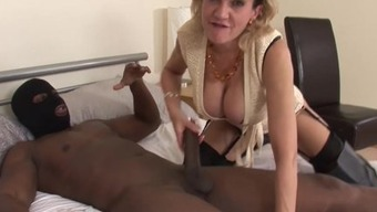 Girl Sonia fucking BBC in cuckold workout