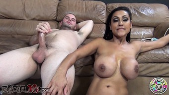 Ethnic cougar by using major small breasts Priya Rai gets nailed through a young stud