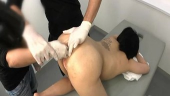 Intense rectum fisting and insertions