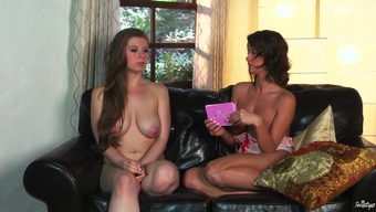 The woman Addison & Jessi February in Jessi & Emily, Boobs Galore - TwistysNetwork