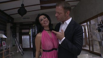 Horny bf Rocco Siffredi fucks lecherous seductress Valeria Visconti
