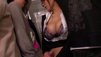 Community find utilizing a great titties Japanese