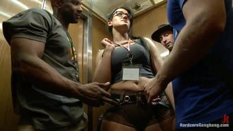 banged in the elevator