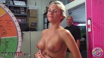 Fake titties toddler masturbates and strokes his penis