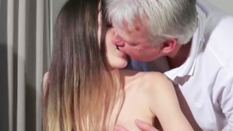 Grandpa Pussy Fucking Young adult Pierced Vocab Face Cumshot