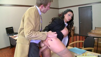 Nikki Benz & Danny D in ZZ Court room: Piece Two different - Brazzers