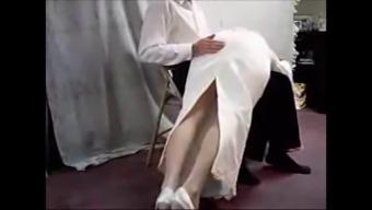 bridal dress smack