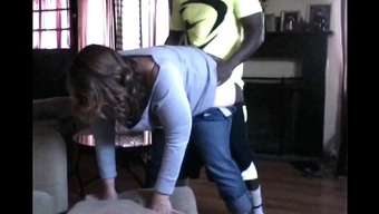 Betraying Light colored Wifey Fucked By Black Neighbor