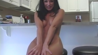Small and attractive India Summer gets totally exposed