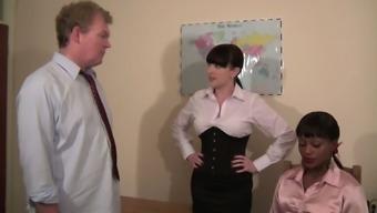 Mistress Knows Best - Dilligent female schoolteacher excellent