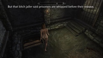Hazards of escaped Skyrim slavegirl 11