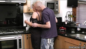 Husband caught betraying with the food prep