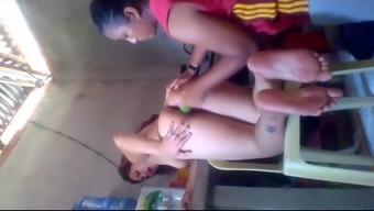 Pinky Mananita heated filipino challenging fucking her housemaid