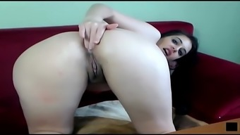 Farting Cam girl brunette filthy