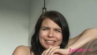 Zuzinka and her partner masturbating