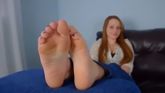 really cute and youthful each of your feet