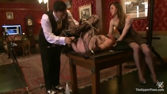 A good Servitude Clip With notably Submissive Girls
