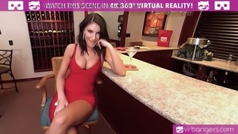 VR PORN-AUGUST AMES Make a First class BLOWJOB With the Club