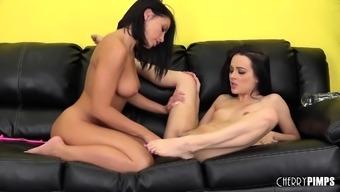 Adriana Chechik and Dallas Dark colored Make Each Other Semen