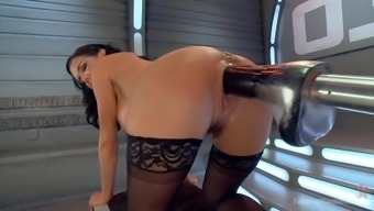 Major Titted Anal passage Milf Squirts Everywhere