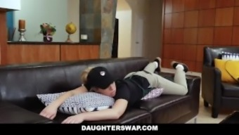 DaughterSwap - Barista Babes Fuck Their personal Dads For a few Income