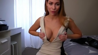 ashley alban - action mama displays new outfit