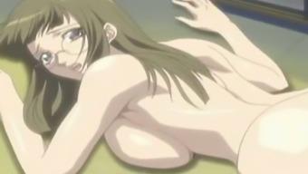 Pregnant hentai attractiveness gets bound and masturbated very hard