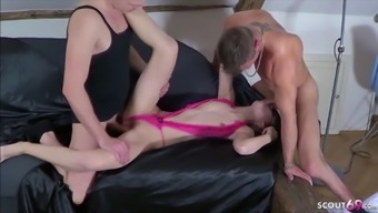 EXTREM SKINNY  ANOREXIC TEEN get First Time Casting Fuck