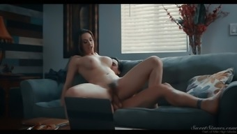 Graceful seductress Chanel Preston rides a dick of her lover