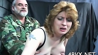 Lewd floosy is drilling her tight cherry