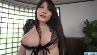 Rie Tachikawa, big tits Japanese, enjoys a good cock - More at javhd.net