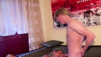 GERMAN Spouse CAUGHT Wifey FUCK WITH YOUNG Man And witness IT