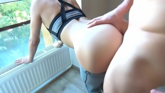 STEP BROTHER Strapping AND CUMS ON This type of fitness Underwear STEP SISTER By using Invlovement