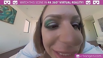 VR BANGERS Lucky cock in the morning